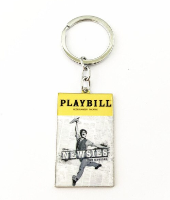 Broadway Inspired - Newsies - Keychain, Necklace, or Ornament
