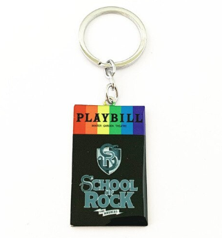 Broadway Inspired - School of Rock - Keychain, Necklace, or Ornament