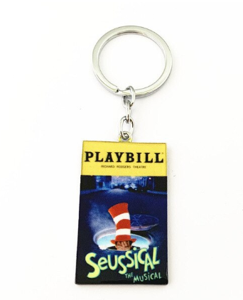 Broadway Inspired - Seussical the Musical - Keychain, Necklace, or Ornament