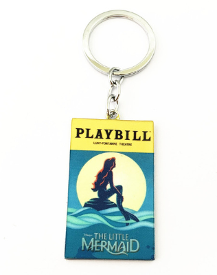 Broadway Inspired - The Little Mermaid - Keychain, Necklace, or Ornament