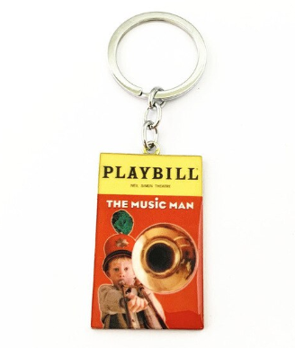 Broadway Inspired - The Music Man - Keychain, Necklace, or Ornament