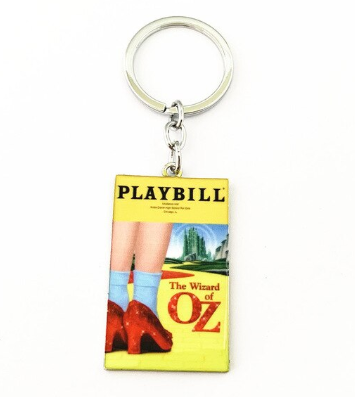 Broadway Inspired - Wizard of Oz - Keychain, Necklace, or Ornament