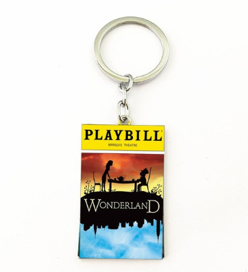 Broadway Inspired - Wonderland - Keychain, Necklace, or Ornament