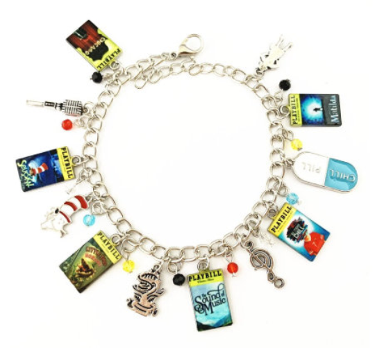 Broadway Inspired - choose Bracelet, or Individual charms Chicago, Seussical, Little Shop of Horrors, Sound of Music, Be More Chill, Matilda