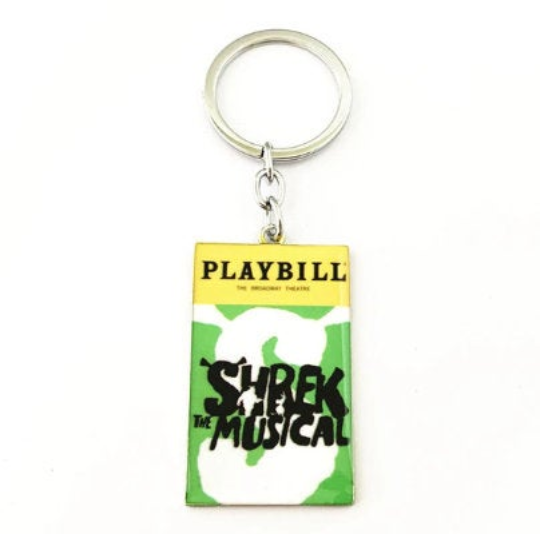 Broadway Inspired - Shrek The Musical - Keychain, Necklace, or Ornament