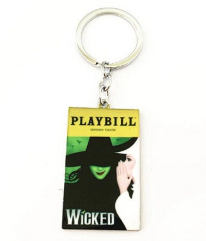 Broadway Inspired - Wicked - Keychain, Necklace, or Ornament