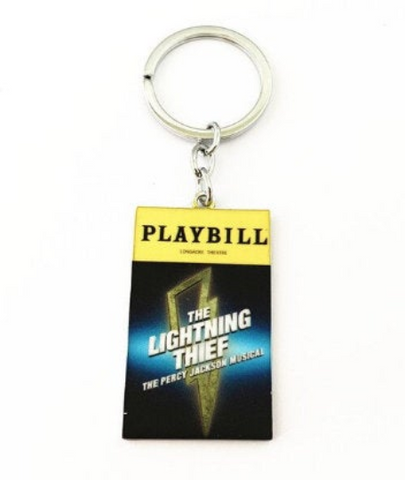 Broadway Inspired - Percy Jackson The Lightning Thief - Keychain, Necklace, or Ornament