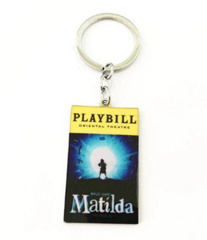 Broadway Inspired - Matilda - Keychain, Necklace, or Ornament