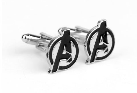 Marvel Inspired - Avengers Logo Cufflinks