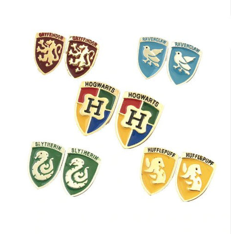 HP Inspired - Crest Stud Earrings - Choose One