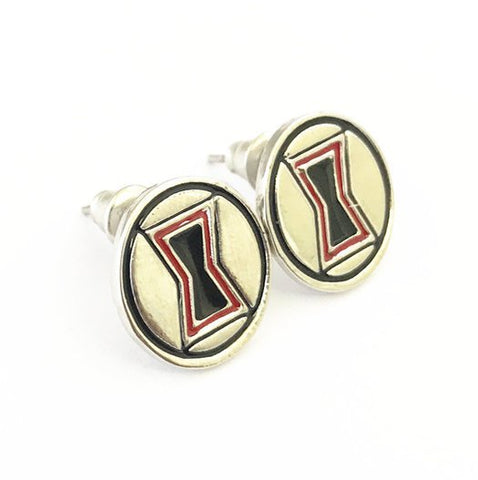 Marvel Inspired - Black Widow - Stud Earrings