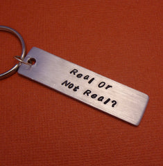 CUSTOM One Sided Aluminum Keychain