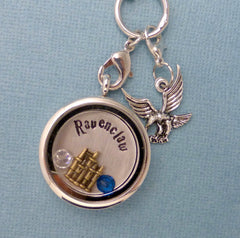 Harry Potter Inspired - Ravenclaw - A Floating Locket / Memory Locket / Living Locket