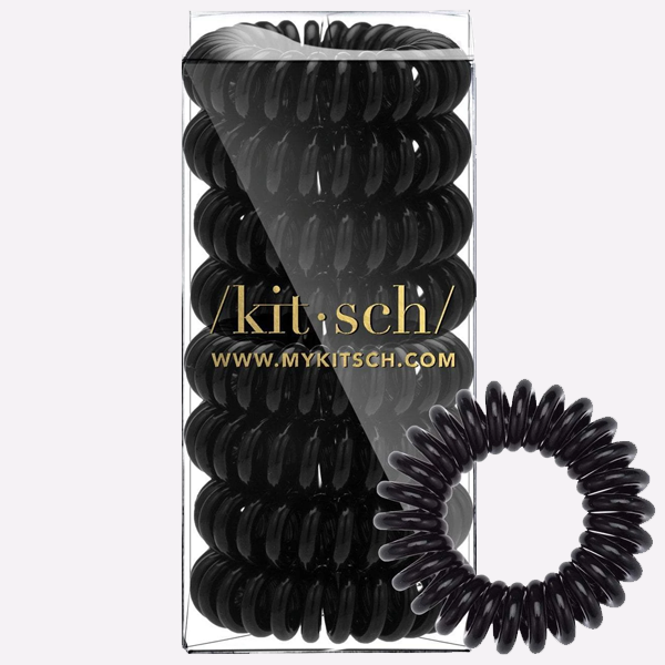 8 Pack Hair Coils | Black