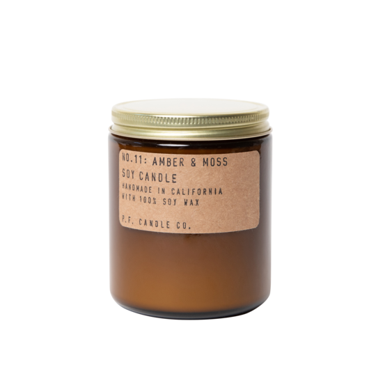 P.F. Candle Co-Amber & Moss - 7.2 OZ Standard Soy Candle