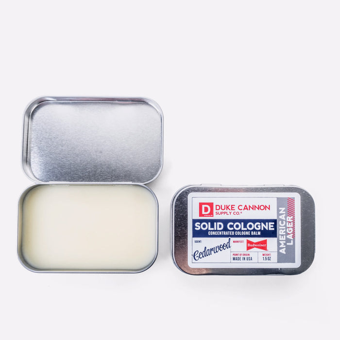 Solid Cologne | Great American Budweiser