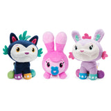 Catch-a-Hug Mo, Bo and Little Doh Fuzzly Plush 3-Pack