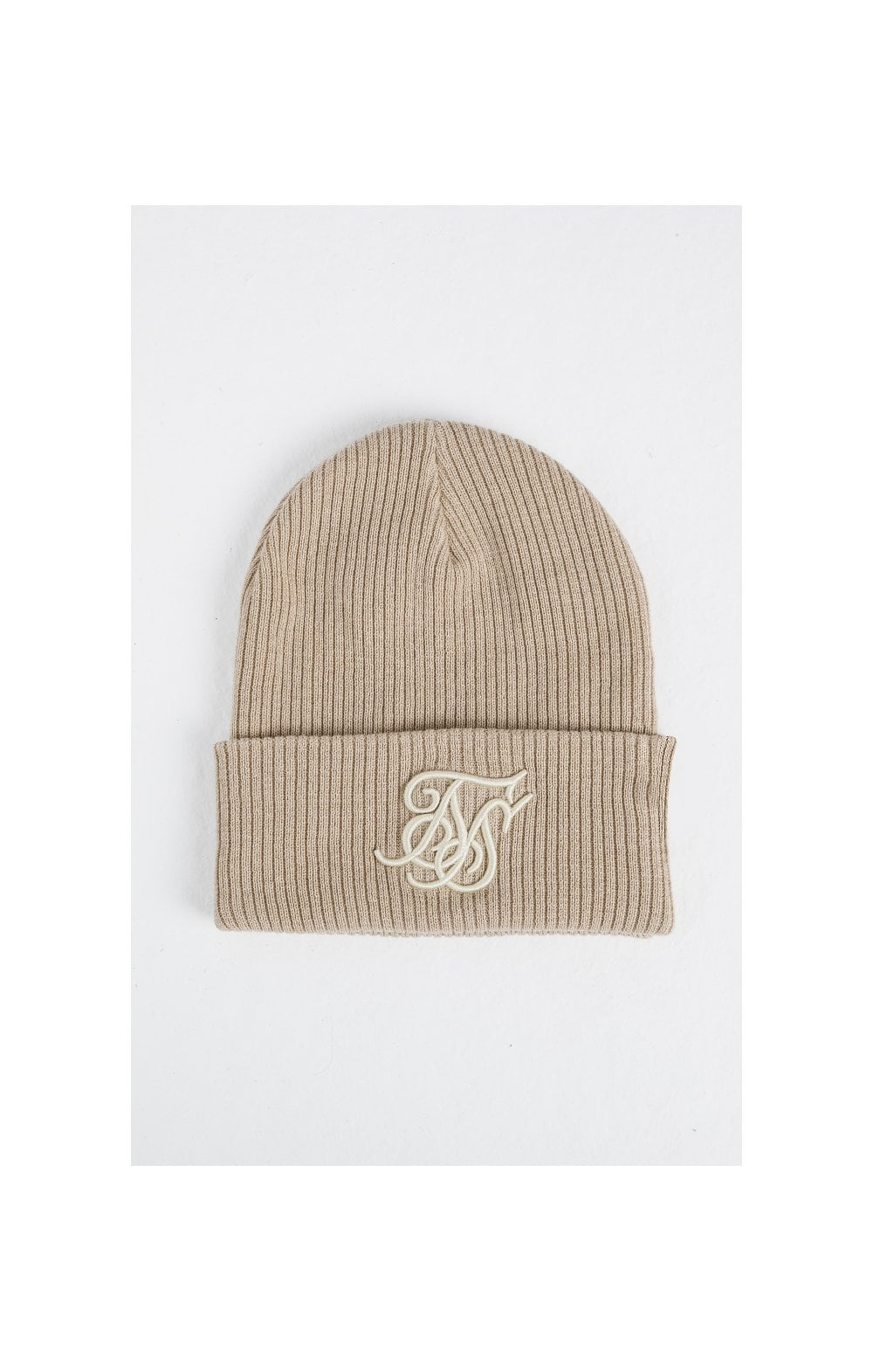 Load image into Gallery viewer, SikSilk Rib Beanie – Beige