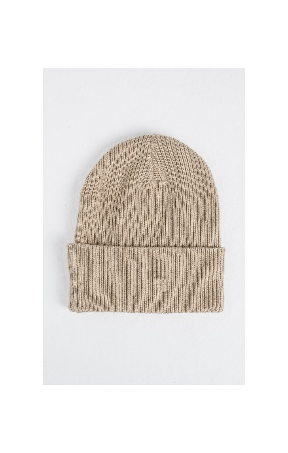 Load image into Gallery viewer, SikSilk Rib Beanie – Beige (1)