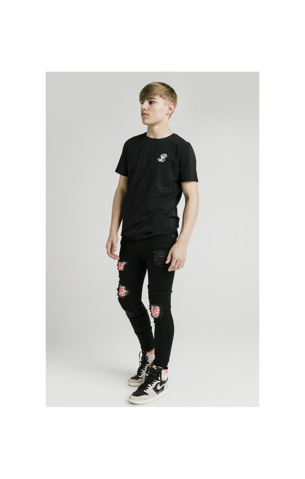 Load image into Gallery viewer, Illusive London S/S Core Tee - Black (3)
