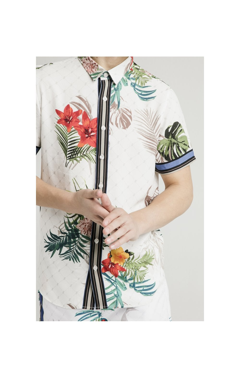 Load image into Gallery viewer, Illusive London Resort Shirt - Botanical