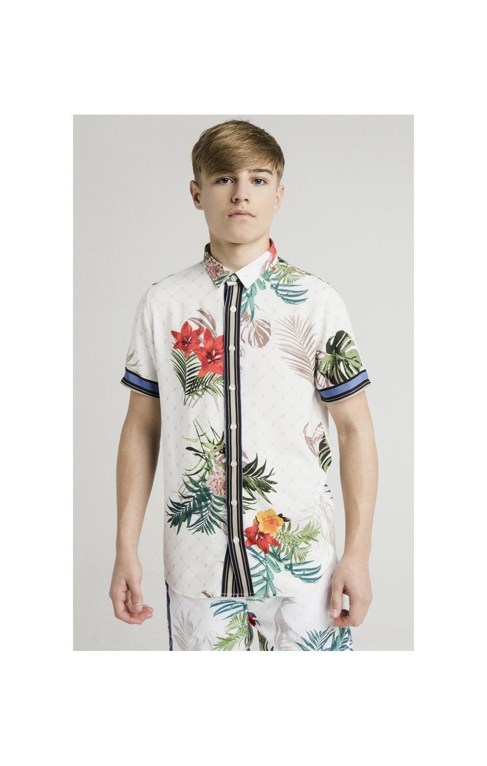 Load image into Gallery viewer, Illusive London Resort Shirt - Botanical (1)