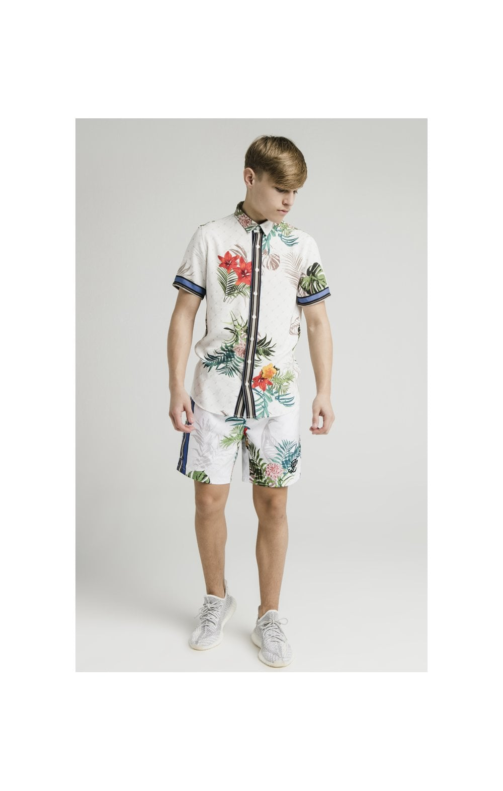 Load image into Gallery viewer, Illusive London Resort Shirt - Botanical (3)