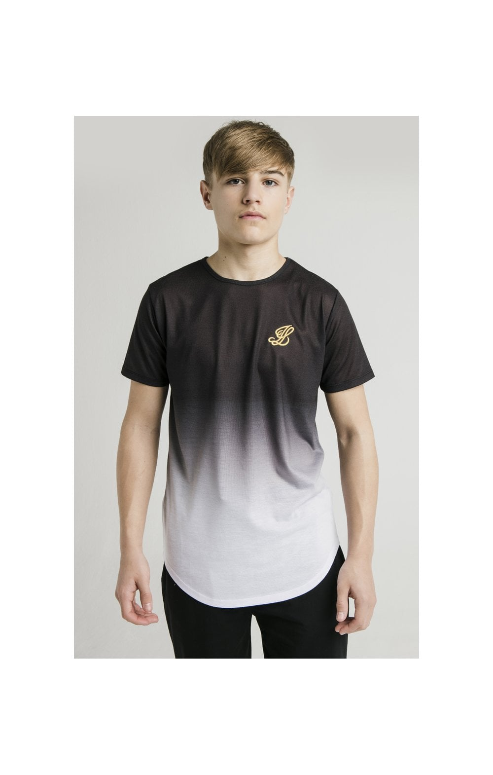 Load image into Gallery viewer, Illusive London S/S Fade Tee - Black & White (1)