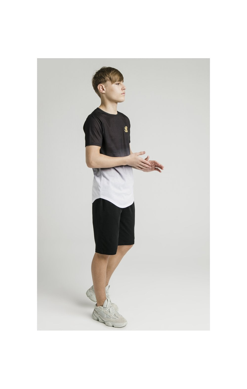 Load image into Gallery viewer, Illusive London S/S Fade Tee - Black & White (5)