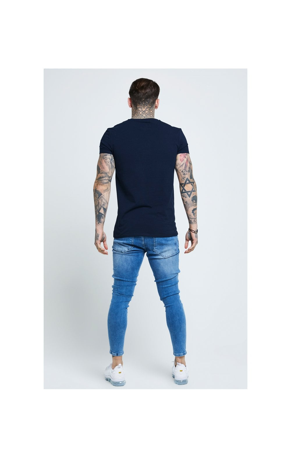 SikSilk Distressed Skinny Denims - Mid Wash (7)