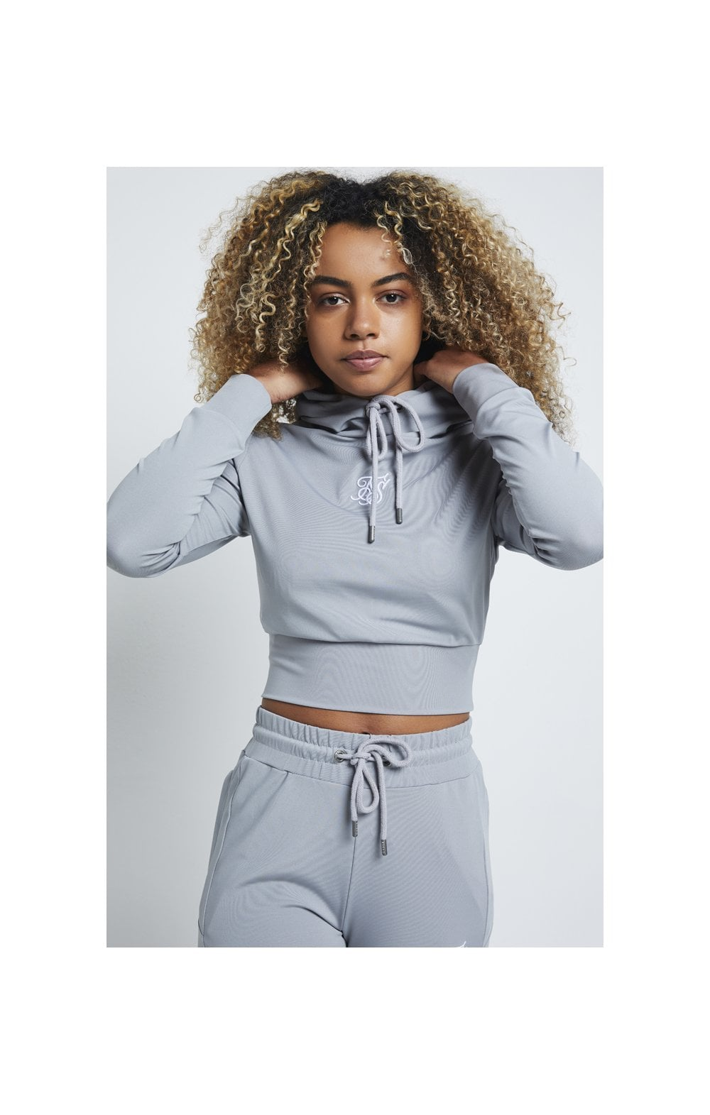 Load image into Gallery viewer, SikSilk Zonal Track Top – Wild Dove (1)