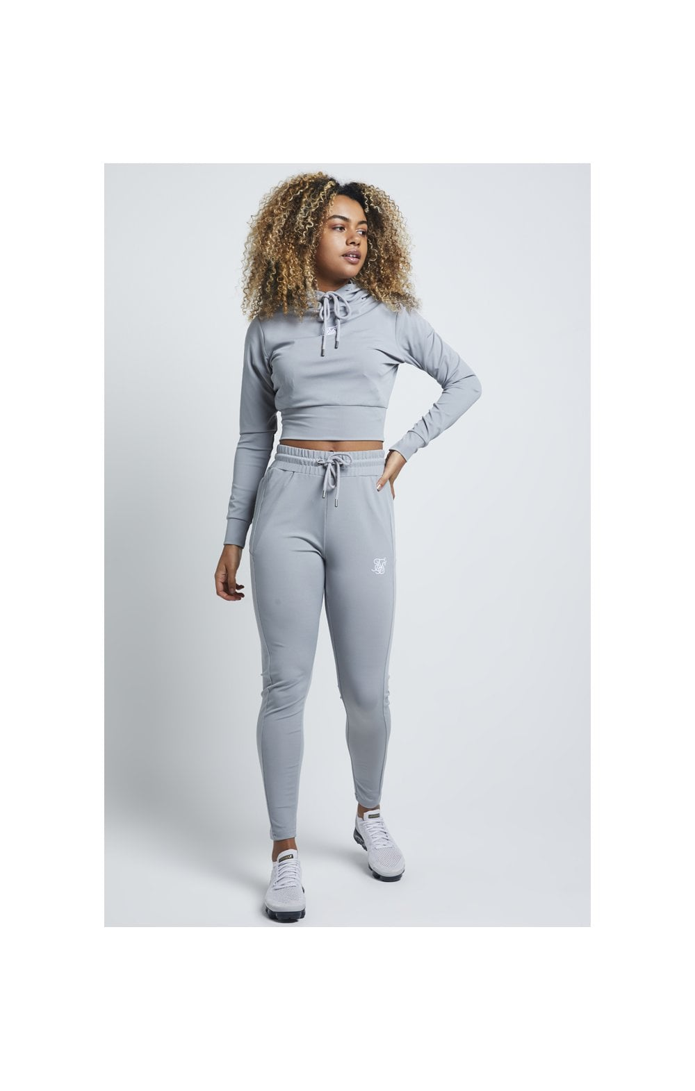 Load image into Gallery viewer, SikSilk Zonal Track Top – Wild Dove (3)