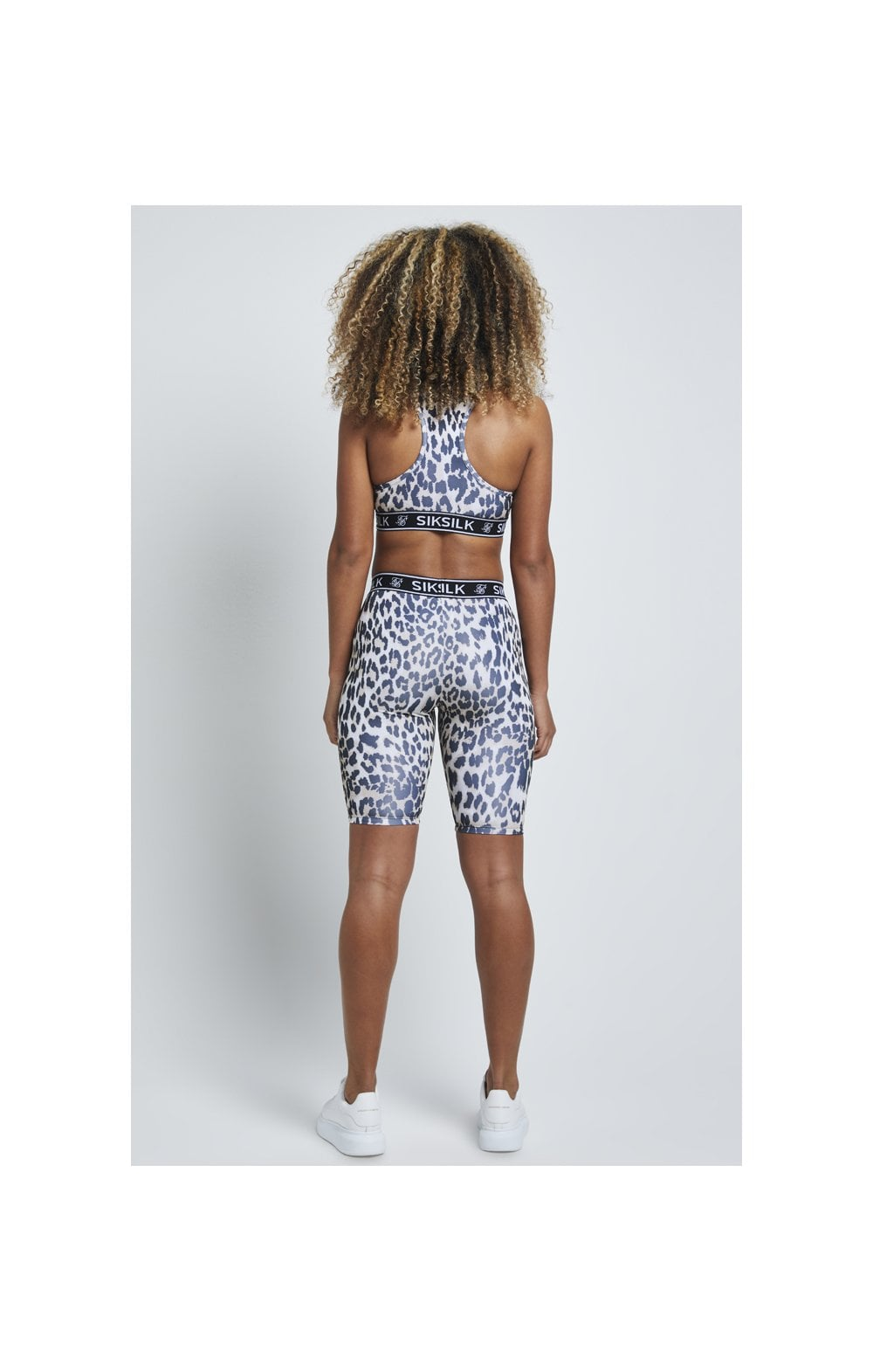 SikSilk Leopard Print Cycle Shorts - Leopard (3)