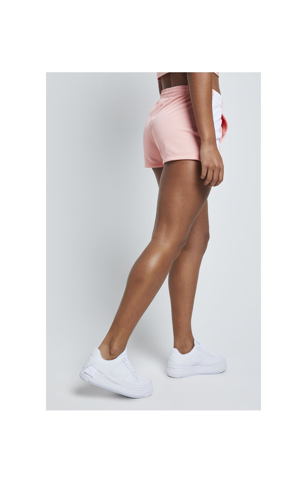 Load image into Gallery viewer, SikSilk Popper Side Shorts – Apricot Blush (3)