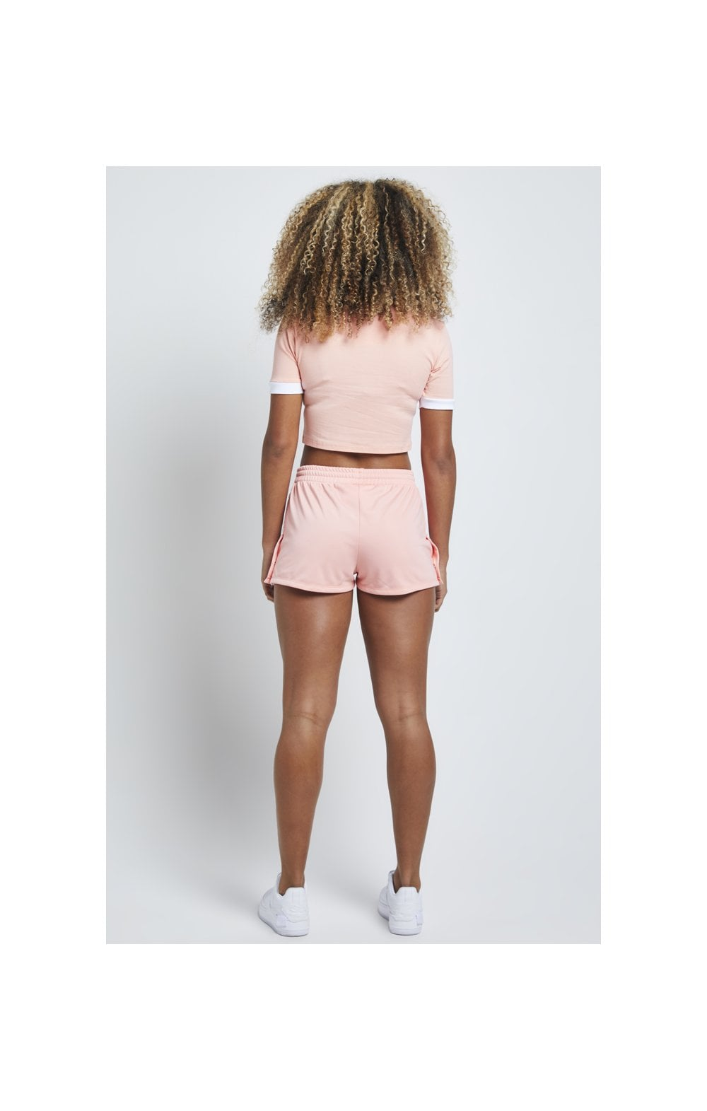 Load image into Gallery viewer, SikSilk Popper Side Shorts – Apricot Blush (5)
