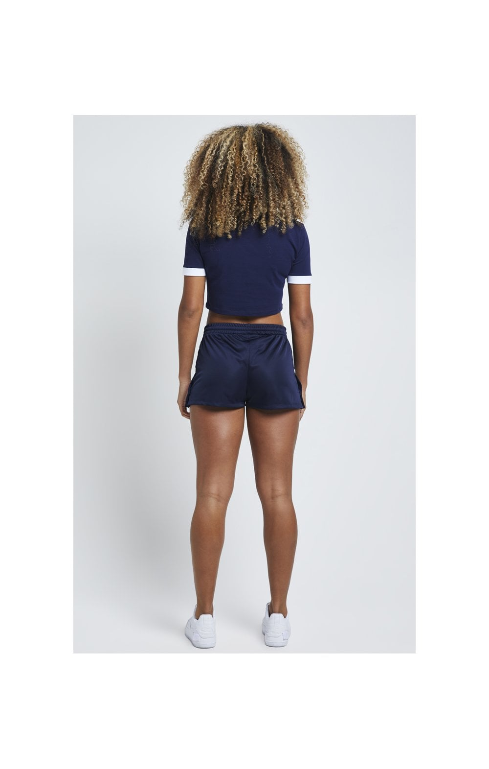 Load image into Gallery viewer, SikSilk Ringer Crop Tee – Eclipse (4)