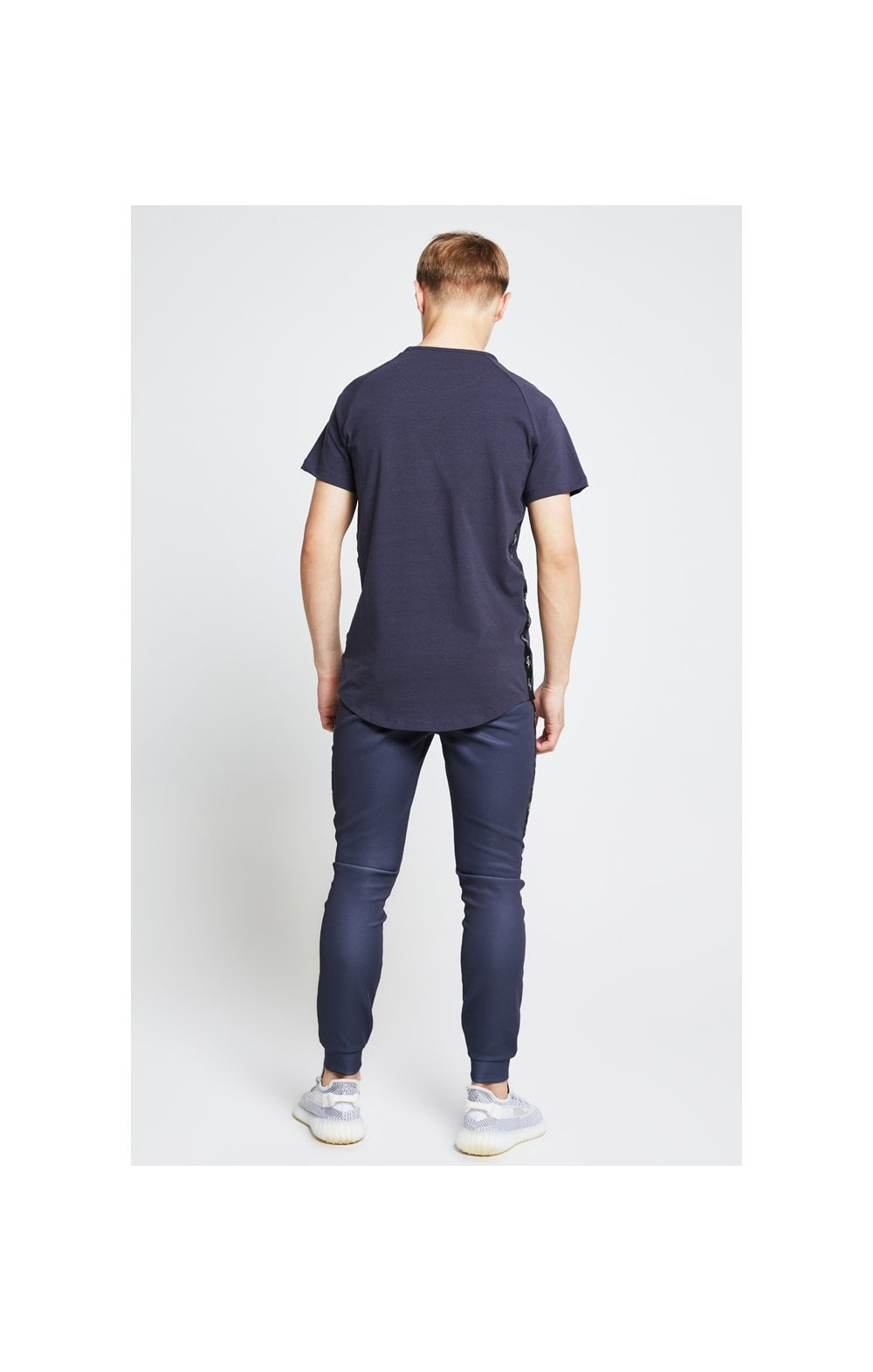 Illusive London Tape Slide Tee - Grey (6)