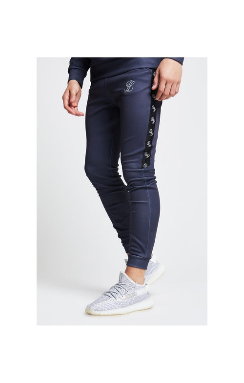 Illusive London Tape Cuffed Joggers – Grey