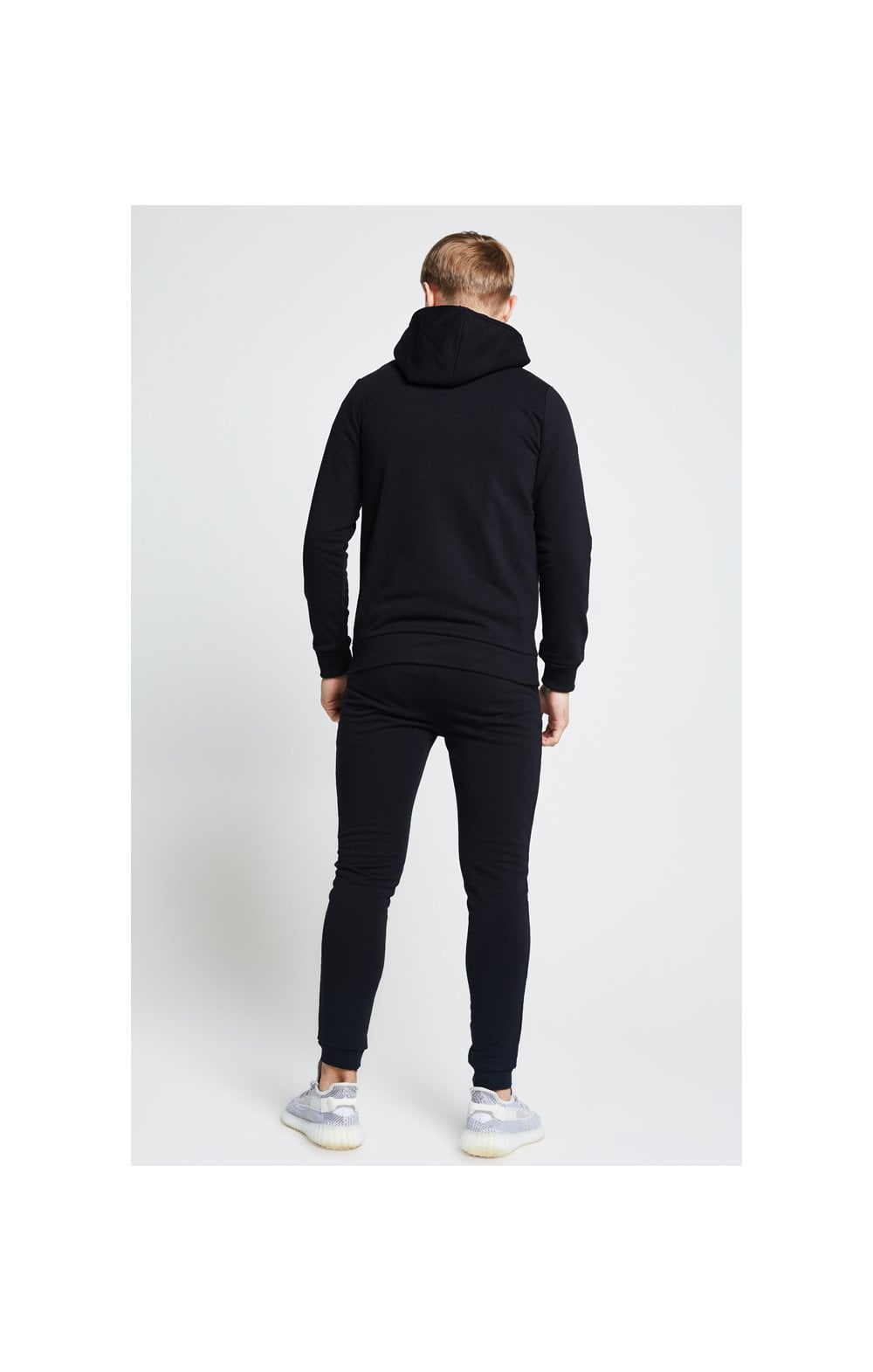 Load image into Gallery viewer, Illusive London Zip Through Hoodie - Black (5)