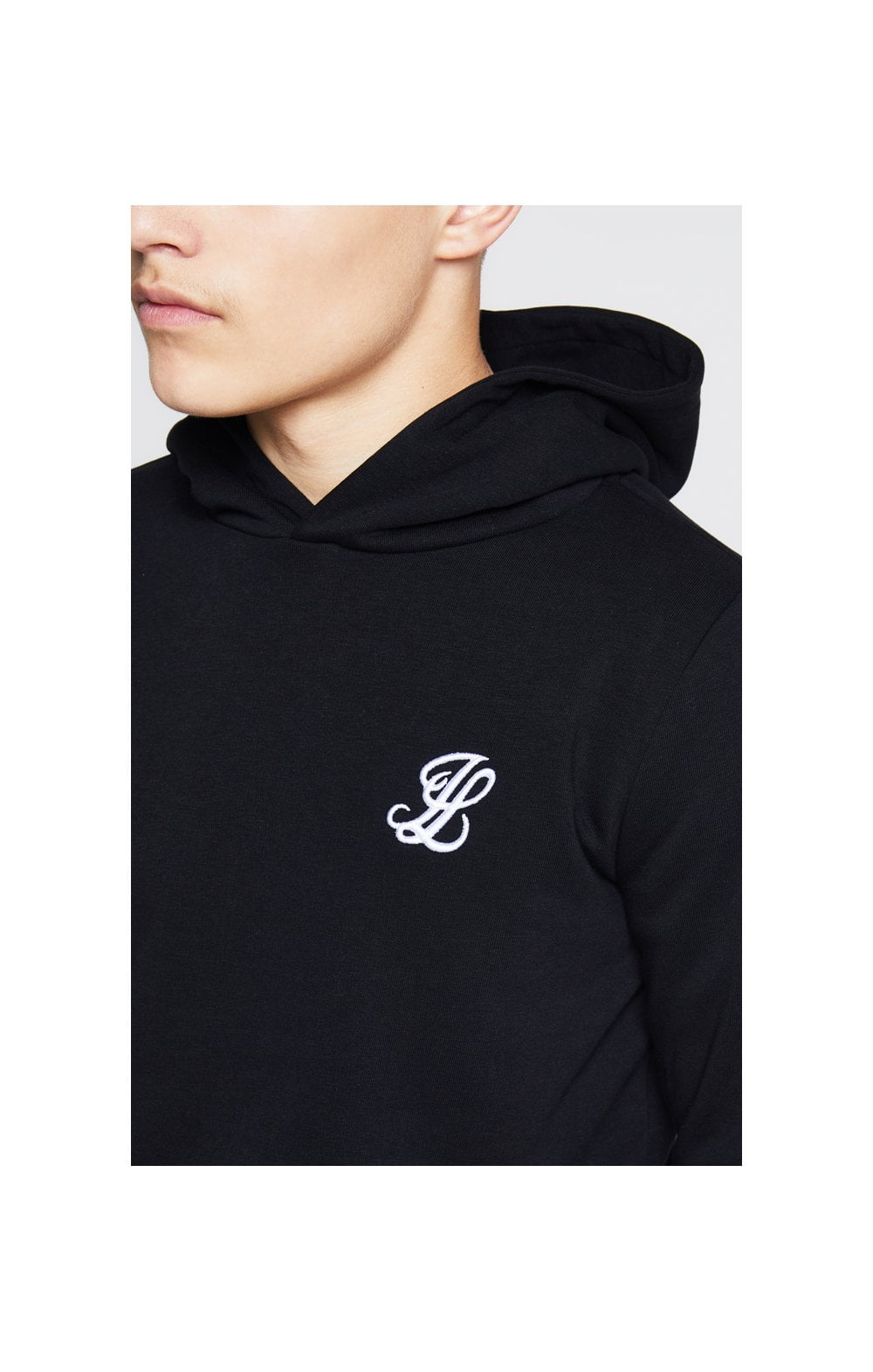 Load image into Gallery viewer, Illusive London Overhead Hoodie - Black