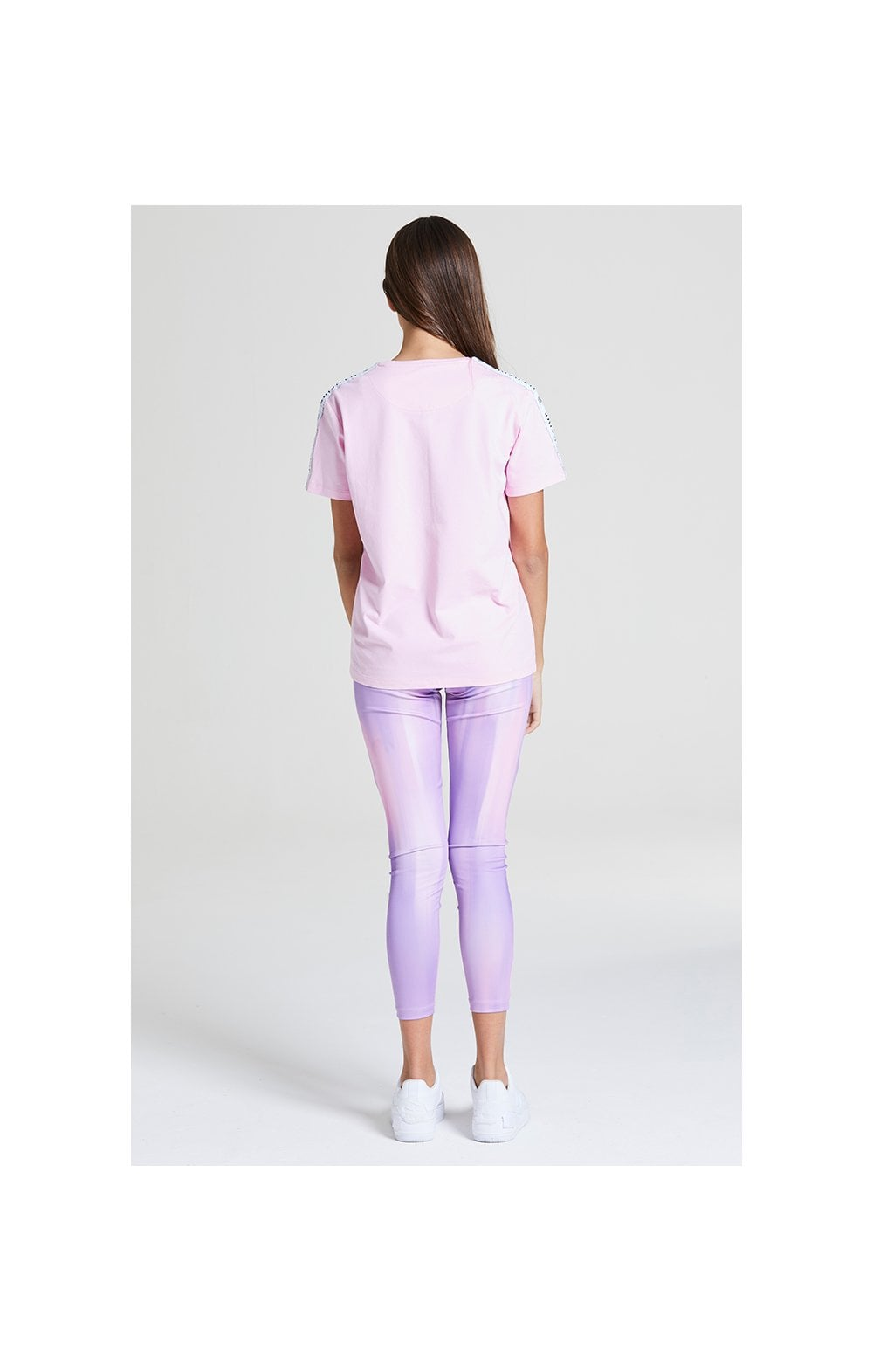 Illusive London BF Fit Taped Tee -  Pink (4)