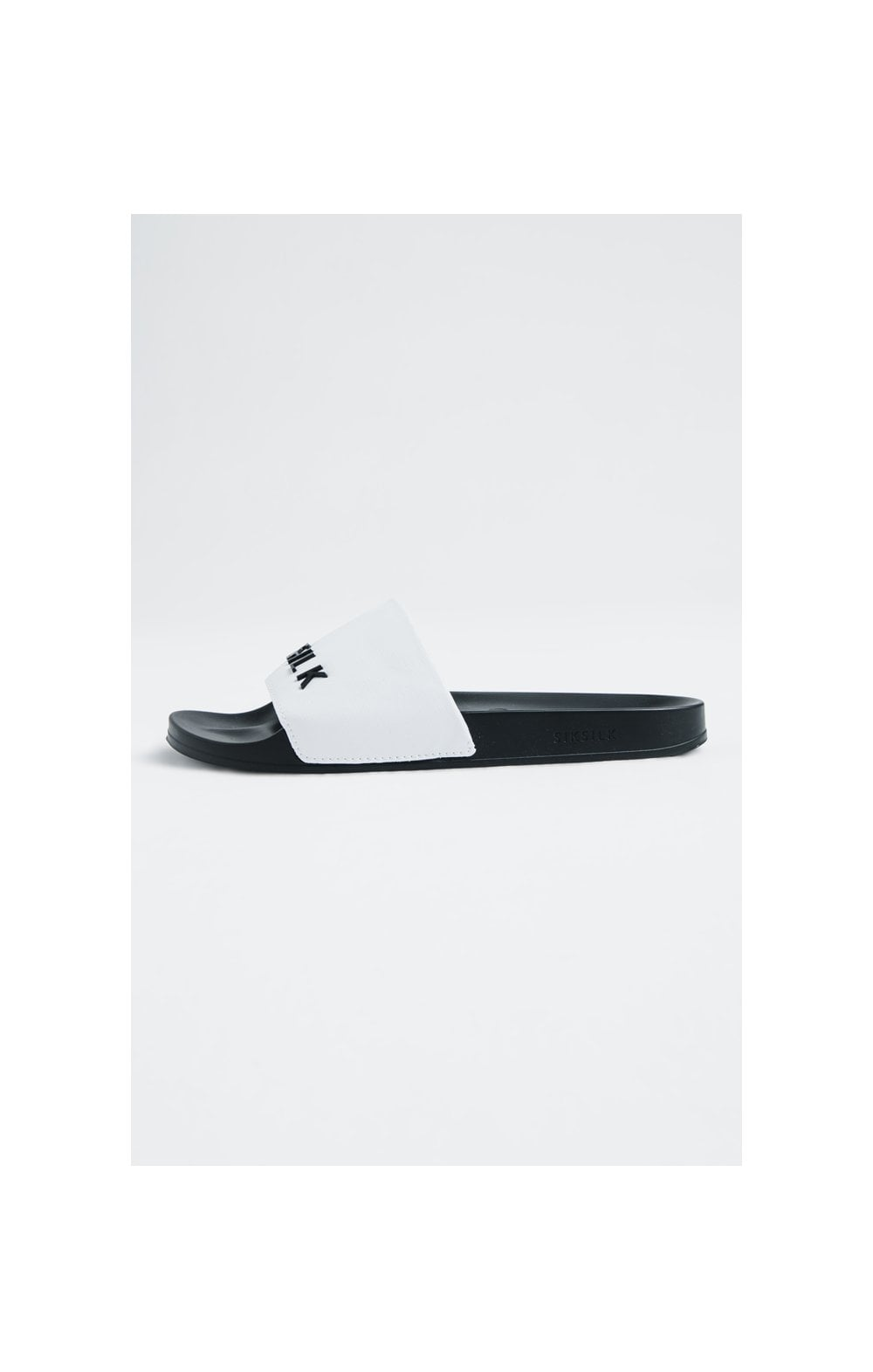 Load image into Gallery viewer, SikSilk Roma Slides – White (1)