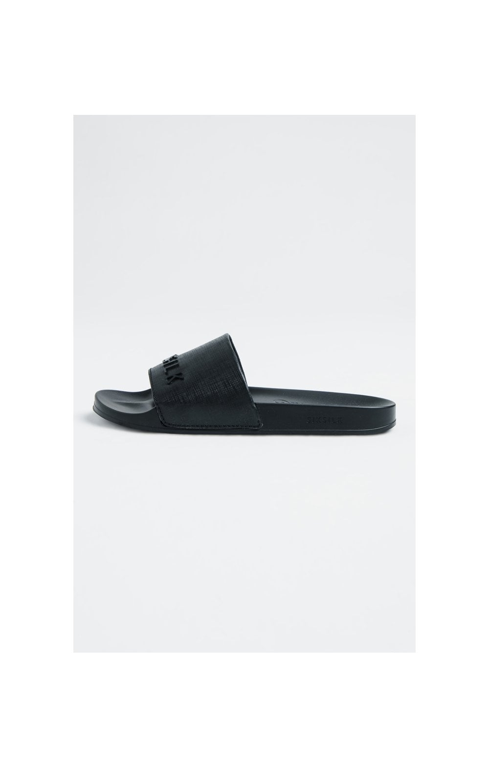 SikSilk Roma Slides – Black (1)
