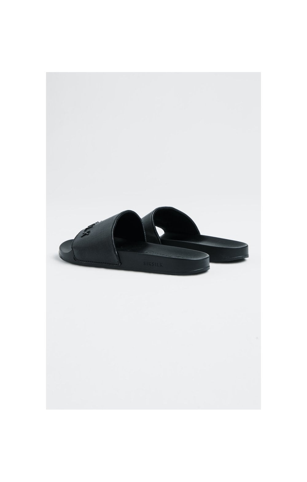 SikSilk Roma Slides – Black (2)