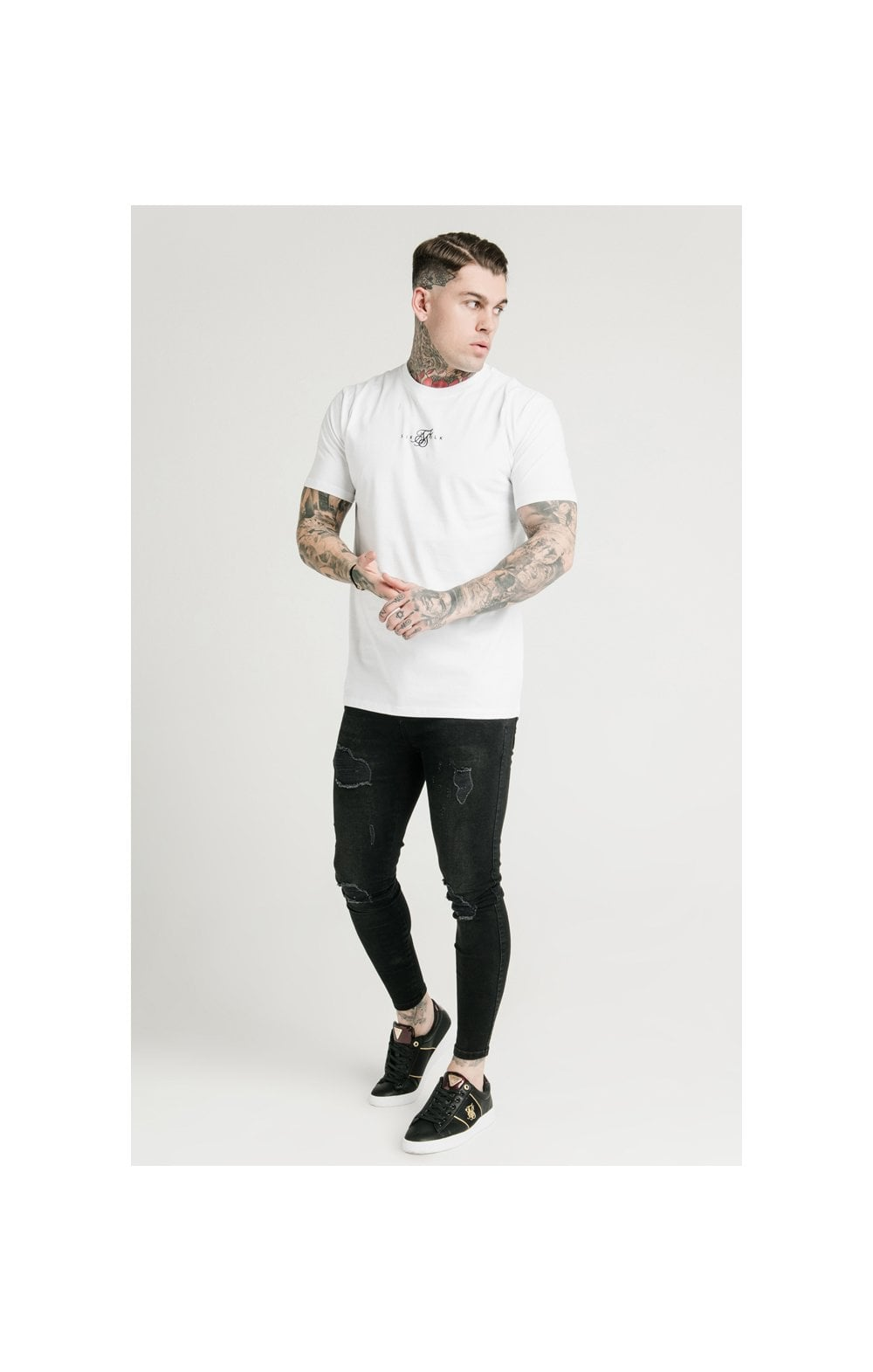 Load image into Gallery viewer, SikSilk S/S Square Hem Tee (2)
