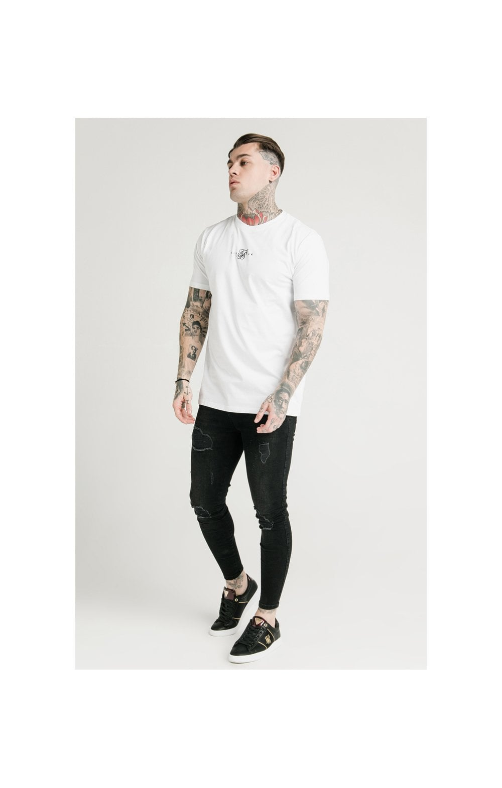 Load image into Gallery viewer, SikSilk S/S Square Hem Tee (3)