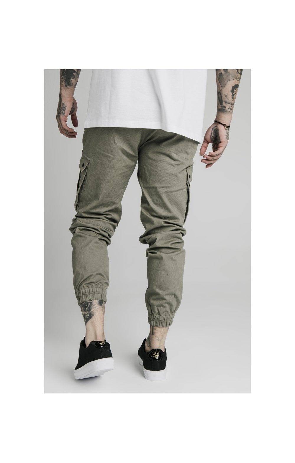 Load image into Gallery viewer, SikSilk Cargo Pants - Khaki (3)
