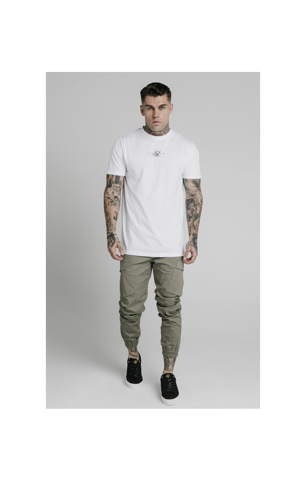 Load image into Gallery viewer, SikSilk Cargo Pants - Khaki (4)