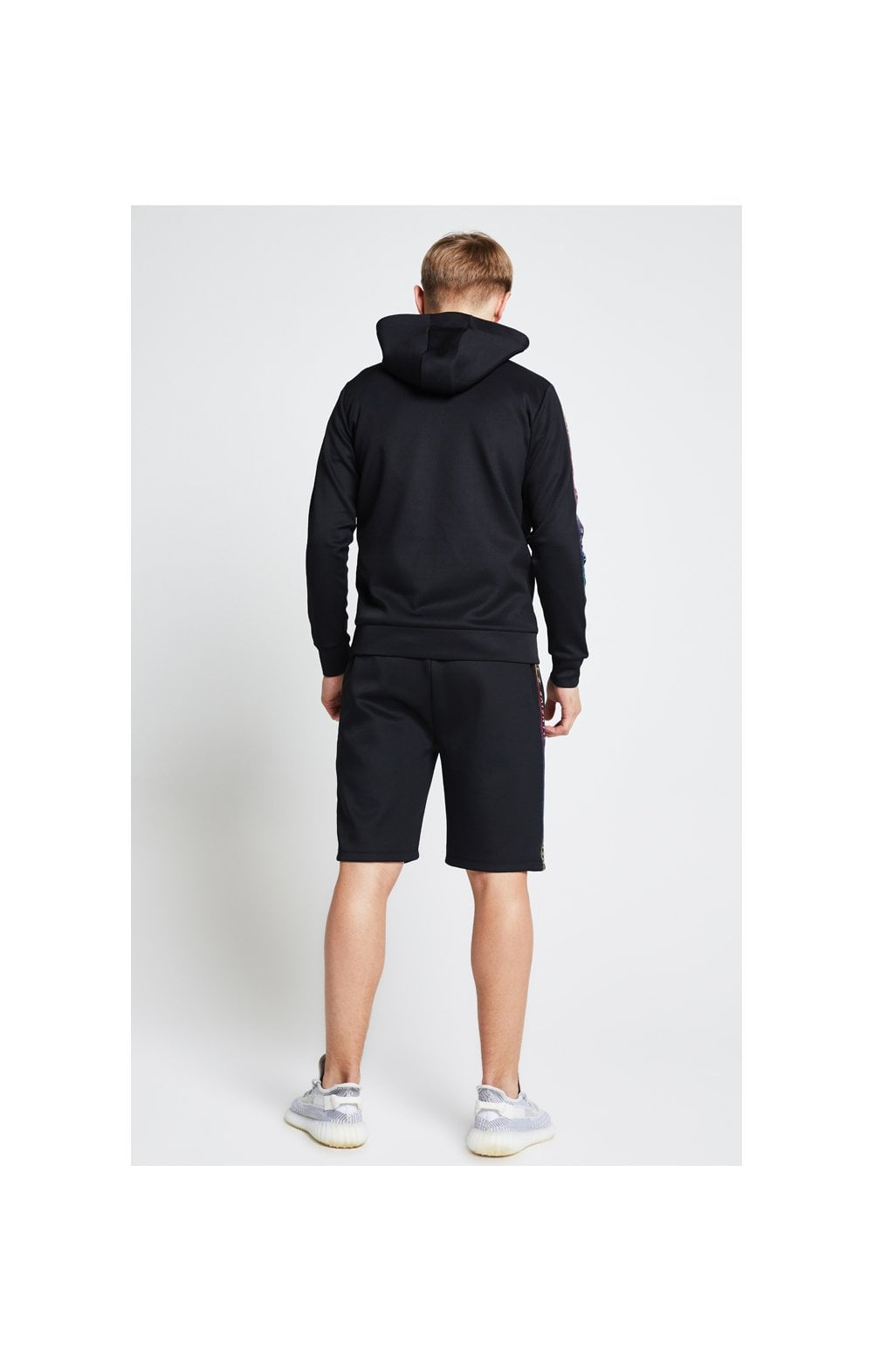 Illusive London Taped Overhead Hoodie - Black (6)