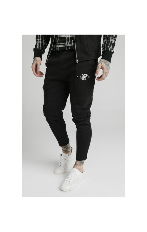 SikSilk Smart Pleated Pants - Black